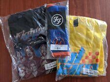 Foo fighters 2 t shirt lot and Citi Field socks xl tour Cal Jam