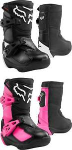 Fox Racing Kids Comp K Boots - MX Motocross Dirt Bike Off-Road ATV Boys Girls