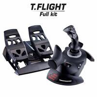 Thrustmaster T. Flight Full Controller Kit | T-Flight Hotas X + Rudder Pedals