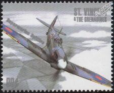 WWII RAF Supermarine SPITFIRE Aircraft Stamp #4 (1940-2000 Battle of Britain)