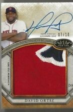 2015 Topps Tier One David Ortiz Auto Patch #d /10 Boston Red Sox