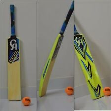 CA 2000 Cricket Bat Tape Ball Tennis Ball Bat Wooden Handle Size ADULTS Genuine