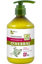 Conditioner for Coloured hair with Thyme extract O'Herbal 500ml Elfa Pharm 524