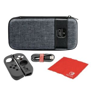 Switch Elite Edition Carry Console Bag Case -For Nintendo Switch (Gray)