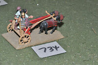 25mm biblical / syrian - chariot 1 painted - chariot (734)