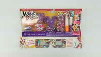 New Moxie Girlz Art-Titude 3D Fashion Clothes Outfits w/ Fabric Markers +Glasses