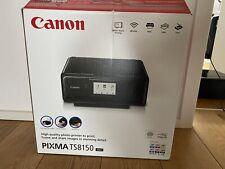 Canon PIXMA TS8150 A4 Tintenstrahl-Multifunktionsdrucker - Schwarz (2230C006)