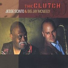 """Jesse Scinto Big Jay McNeely """"The Clutch"""" OOP cd SEALED"""