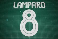 Chelsea 04/06 #8 LAMPARD UEFA Chaimpons League / Carling Cup Nameset Printing