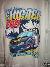 SWEET HOME CHICAGO 400 2006 JOLIET IL NASCAR BLUES BROTHERS T SHIRT SIZE LARGE