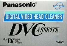 Panasonic Mini DV Head Cleaner Cassette Tape MiniDV DVC - AY-DVMCLWW
