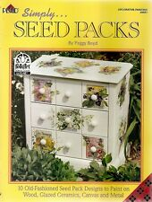 Peggy Boyd : SIMPLY SEED PACKS Painting Book - NEW!