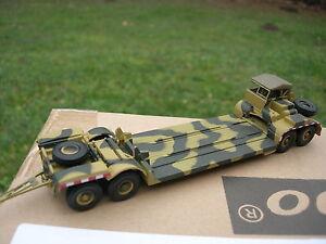 ALTAYA 1/72 MILITAIRE TANK  remorque surbaissée  porte chars SdAh 116 1943!!