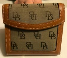 Dooney & Bourke Light Brown Genuine Leather Wallet and Coin Purse