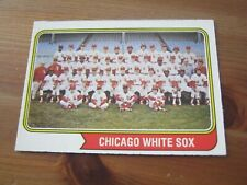 1974 OPC O PEE CHEE #416 - Chicago White Sox Team Picture                    ZB0