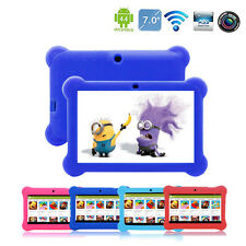 7'' inch Quad Core HD Tablet for Kids Android 4.4 Kitouch Dual Camera WiFi NEW