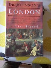 DOCTOR JOHNSON'S LONDON-LIZA PICARD-1ST EDITION-2ND IMPRESSION