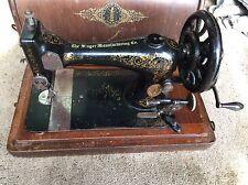 Vintage 1893 Singer Hand Crank Sewing Machine 11229368 working
