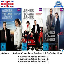 Ashes To Ashes - Series 1-3 Complete Collection 1 2 3 Box-Set New Region 2 DVD