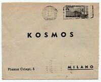 982 - Repubblica - 20 lire Fiera di Milano su busta, 07/06/1949