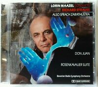 BRAND NEW FACTORY SEALED CD Lorin Maazel Conducts Richard Strauss