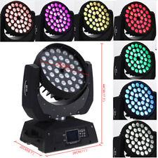 New listing 36x10W Zoom Multi Par Moving Head Light 360W Rgbw Led Dmx 16Ch Wedding Party Dj