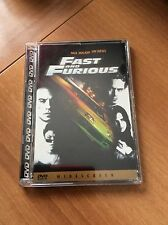 FAST AND FURIOUS Vin Diesel Paul Walker JEWEL BOX DVD