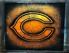 Airbrushed Chicago Bears sign - 16