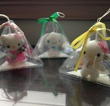 Sanrio Hello Kitty Charmmy Kitty Cinnamoroll Plush Christmas Ornaments Lot Set