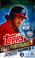 2016 Topps Baseball Series 1 - Pick A Player - Cards 1-175