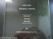 Storico FORMULA JUNIOR VOLUME 5 2005 2007 RABAGLIATI Elva GEMINI Lola LOTUS A1
