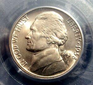 1938 D Jefferson Nickel - PCGS  MS 65 FS