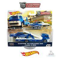 Hot Wheels Car Team Transport Custom 64 Galaxie 500 Ford C-800