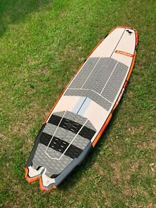 """5'6"""" Slingshot Angry Swallow Kitesurf Board - 2018 (fins and travel bagincluded)"""