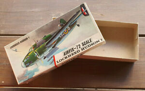 Airfix Box Of Model Empty Lockheed Hudson 1 Scale / Ladder 1/72