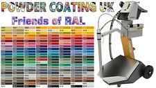 Powder Coating Powder Paint RAL + BS Various Colours 1kg Bag