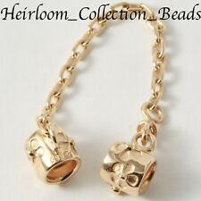 AUTHENTIC NEW PANDORA 750312 14k GOLD DAISY SAFETY CHAIN 585 ALE *SALE* $365