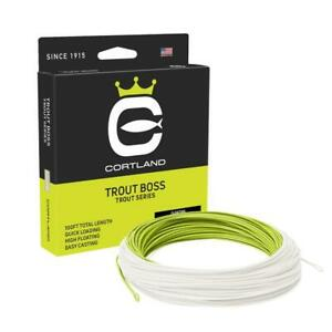 Cortland Trout Boss Fly Line
