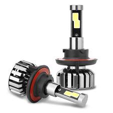 2x H13 9008 LED High Low Beam Headlight Bulbs for 2004-2014 F150 2005-2017 F250
