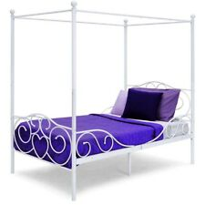 Unbranded Twin Canopy Beds Frames For Sale Ebay
