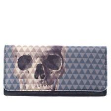Loungefly - Geldbörse Skull with Pyramid (Blau/Beige)