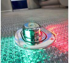 Awesome Marine Boat 12V Red & Green LED Flip Navigation Light 2 NM Visibility