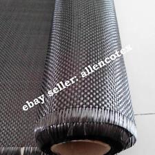 12K 400g Carbon Fiber Cloth Fabric Plain Weave 1m*1m  Aerospace CAR TRIM