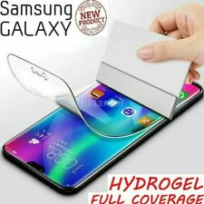 For SAMSUNG Galaxy S10 S20+ 8 9 PLUS 5G NOTE TPU Hydrogel Screen Protector COVER