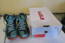 Nike Lebron 9 Sneakers Cannon Size 8.5 #469764-004 Lebron James with box NICE