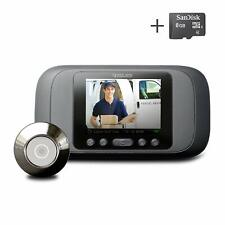 Eques Digital Door Viewer - LCD Security Camera Monitor Video Record Photo Shoot
