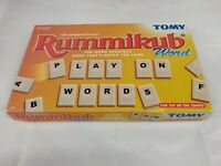 Rummikub Word board game by Tomy, The original classic fun for all the family