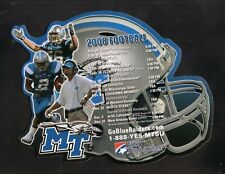 Middle Tennessee State Blue Raiders--2008 Football Magnet Schedule