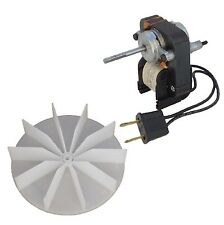 Electric Fan Motor Kit w/Blower Wheel  3/16 Shaft 120V Bathroom Exhaust Vent Fan
