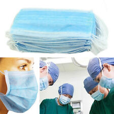 New 50 Pcs Disposable Dental Medical Surgical Dust Ear Loop Face Mouth Mask